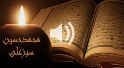 تلاوت کل قرآن کریم به تفکیک سوره با صدای محمدحسین سبزعلی